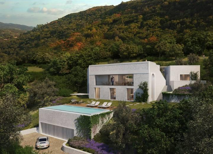 Villa Alcedo rodeada pela natureza