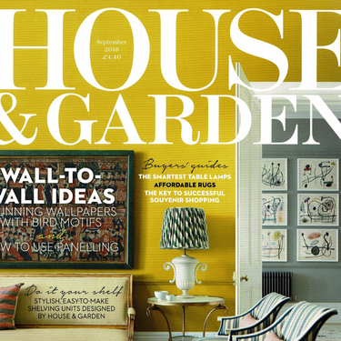 House & Garden - September Issue 2018