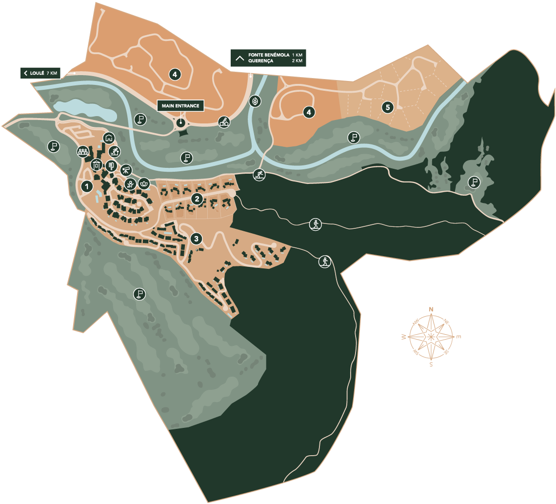Ombria resort map