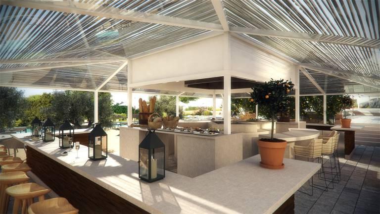 Pool Bar no Viceroy Hotel & Residences