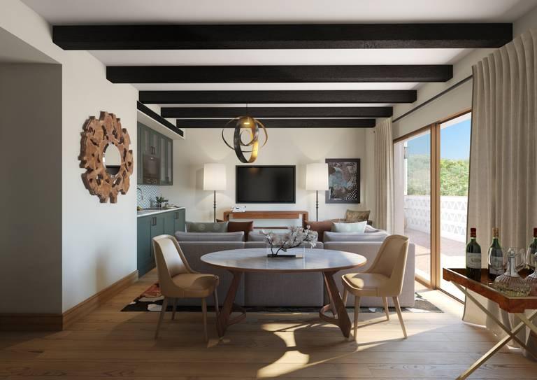Viceroy Residences - Sala de estar