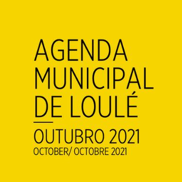 Agenda de la ville de Loulé - Octobre 2021