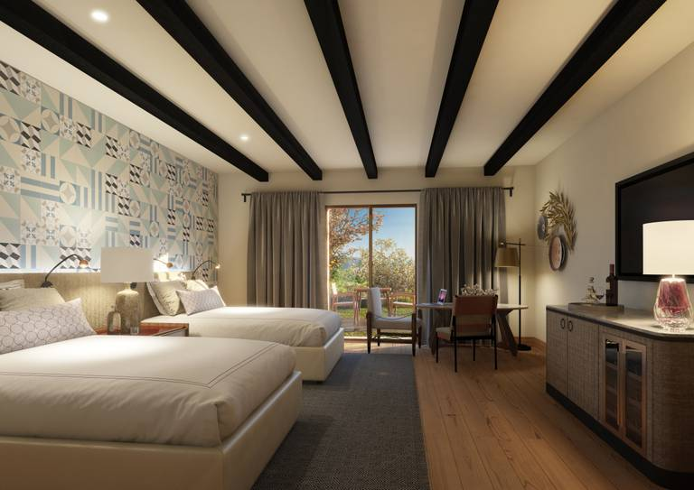 Viceroy Residences - Twin Bed Room