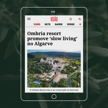 O Ombria promove um estilo de vida mais tranquilo no Algarve