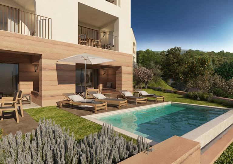 Viceroy Residences - Espreguiçadeiras junto à piscina