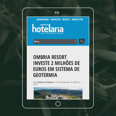 Ombria Resort invests in one of the largest geothermal systems in the Iberian Peninsula