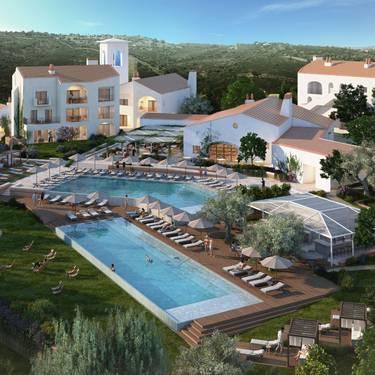 Курорт Ombria Resort впервые опубликовал дизайн первой фазы строительства
