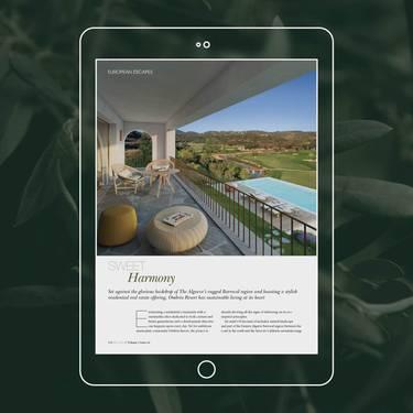 Журнал Abode2, посвященный элитной недвижимости, представляет Ombria Resort